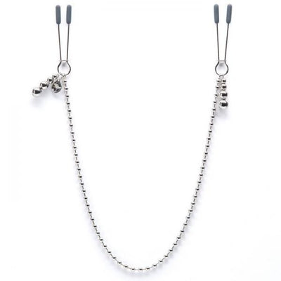 Fifty Shades Darker At My Mercy Beaded Chain Nipple Clamps - Romance Keeper (886015655979)