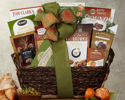 The Gourmet Choice Gift Basket - Romance Keeper
