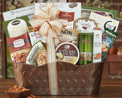 The Grand Gourmet Gift Basket - Romance Keeper