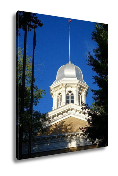Gallery Wrapped Canvas, Nevadstate Capitol Building Has Been Landmark Carson City Since Travel City - Romance Keeper