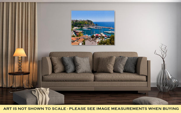 Gallery Wrapped Canvas, Old Town Kaleici In Antalyturkey Travel - Romance Keeper