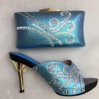 Latest African Wedding Shoe and Bag Sets - Romance Keeper