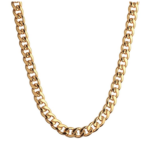 Cuban Paradise Chain 18k Triple-Plated Gold - TheJewelryGeek