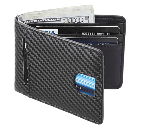 Uzziah- Men's Carbon Fiber Wallet - TheJewelryGeek