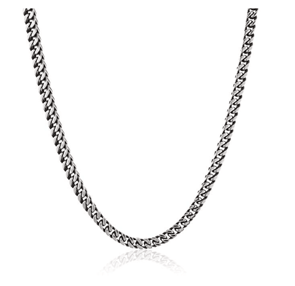 Men's Classic 925 Silver Necklace - TheJewelryGeek