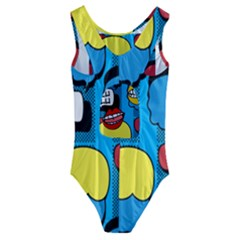 Speak Your Mind Kids' Cut-Out Back One Piece Swimsuit