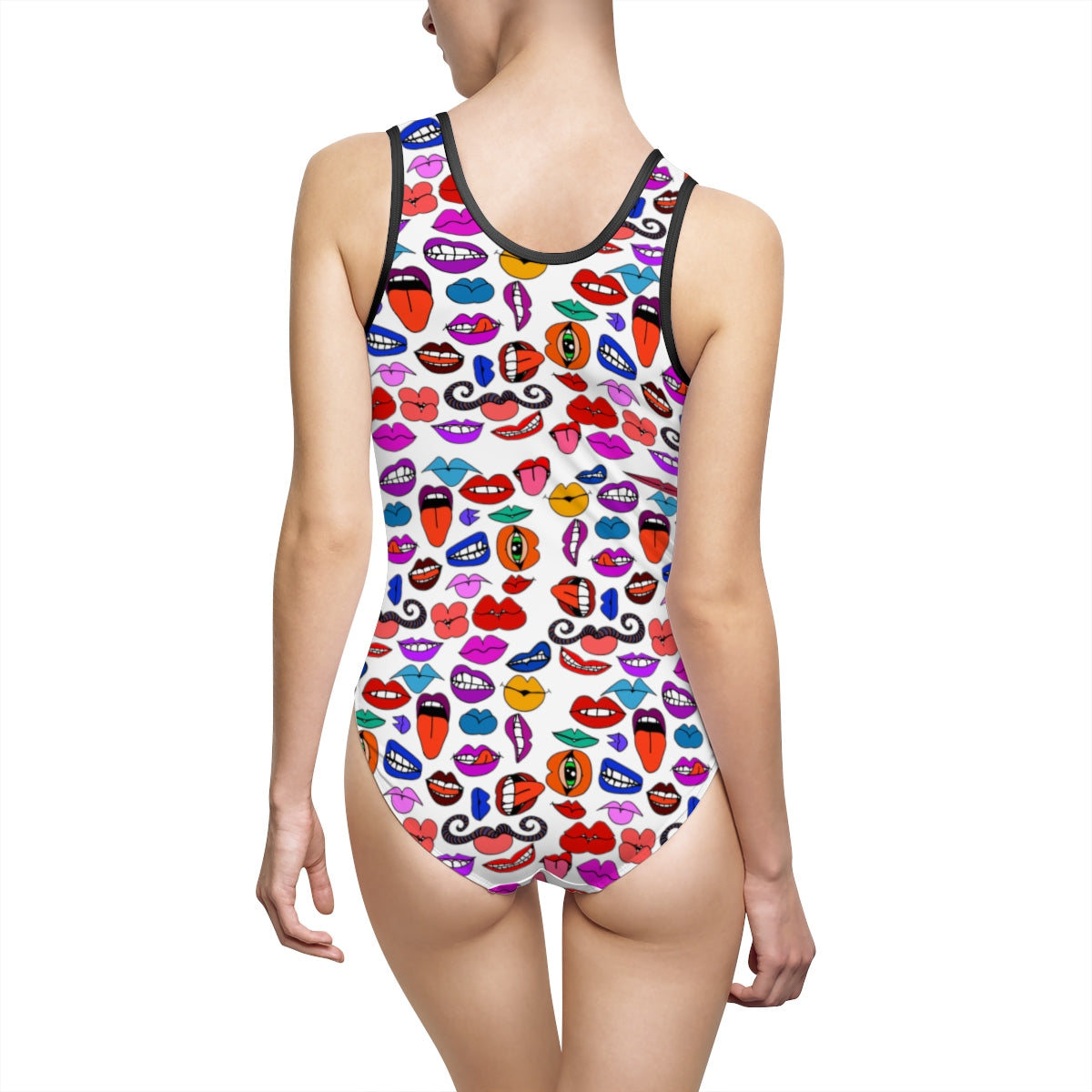 Mouthy Classic One-Piece Swimsuit