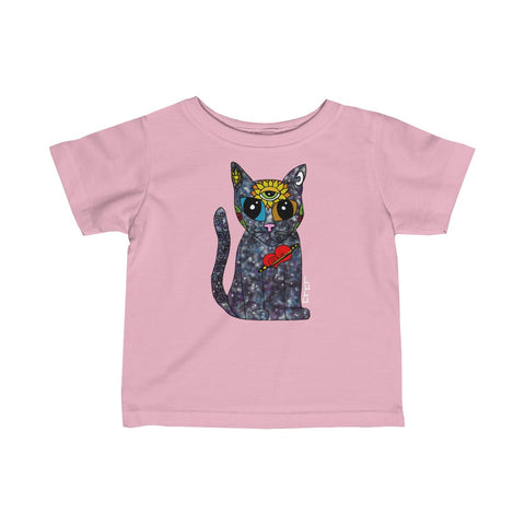 Galaxy Cat Infant Tee