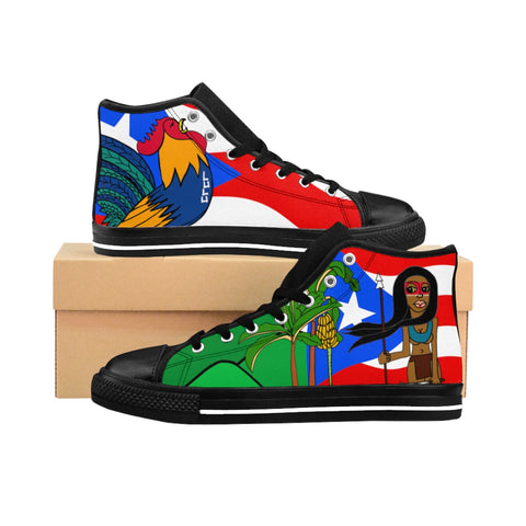 Boricua Women's High-top Sneakers