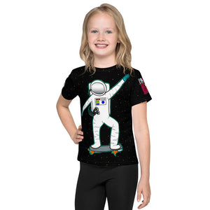 Astronaut Spaceboard Kid's Tee