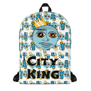 City King Backpack Blue