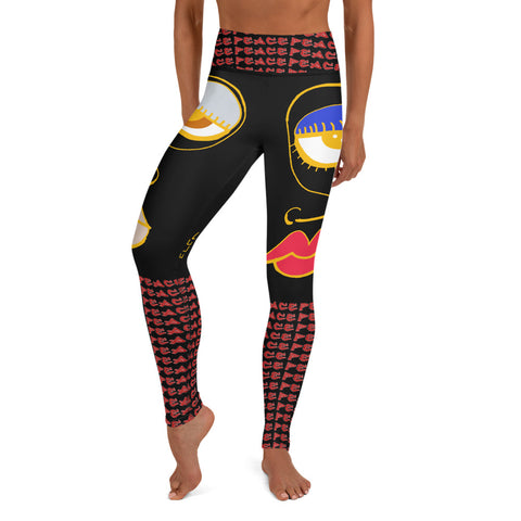 PEACE Yoga Leggings