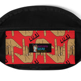 Eye Luv Yew Fanny Pack by Artysta LuLu