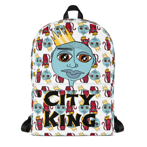 City King Backpack Red