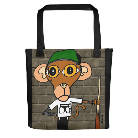 Pool Monkey Tote bag