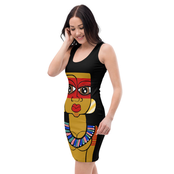 Taino Royalty Fitted Dress