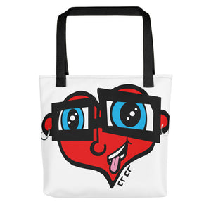 Heart Head Tote bag