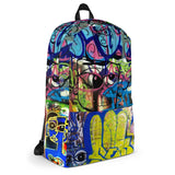 Lulu Grafitti Backpack