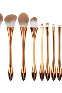 Missee Professional 10 Piece Brush Set