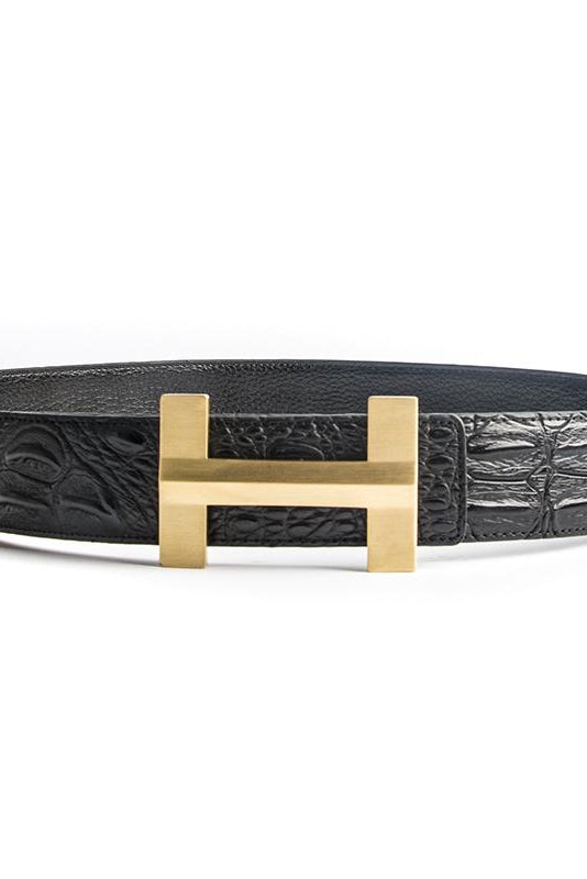 Golden H Belt