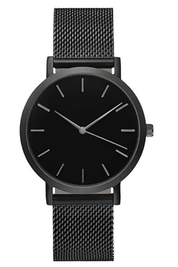 Blacked Out Quartz Watch