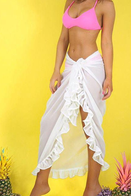 Long Beach Wrap Skirt
