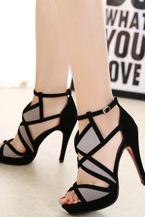 Mosaic Red Bottom Heels