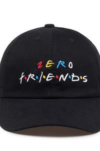 Zero Friends Hat