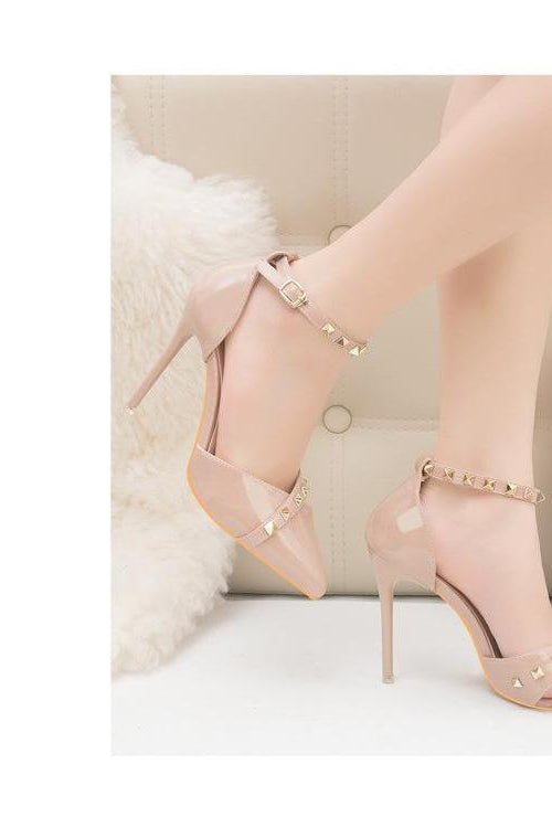 Sally Studded Heels