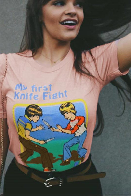 First Knife Fight Top