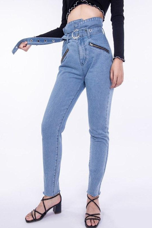 Anvil High Waist Jeans