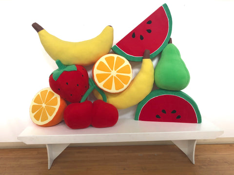 Super Secret Fruit Maze Props