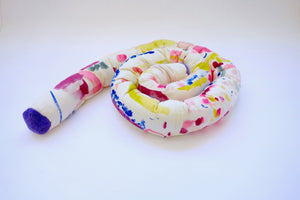 Watercolor Knot Pillow