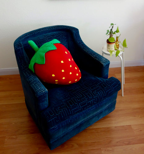 Giant Strawberry Fruit Pillow