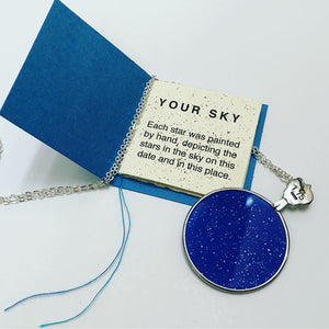 Star Map Pendant