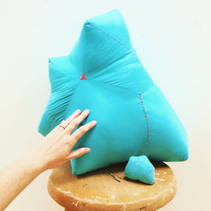 Blue Gem Pillow