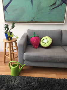 Kiwi Fruit Pillow