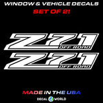 Chevy GMC Z71 OFF ROAD Bedside Decal