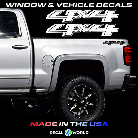 Chevy 4x4 Off Road Truck Bed Side