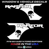 Ford Raptor Bedside Graphics - 2010-2014 Raptor Decals - Raptor Stickers (#307)
