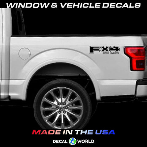Ford F150 f250 FX4 Off Road Decals 2015-2019