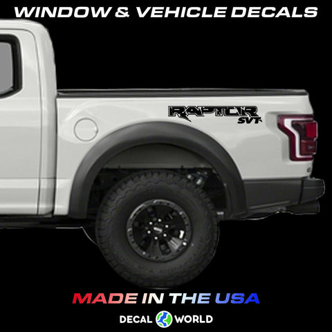 FORD 150 RAPTOR SVT Truck Side Bed Lettering 2010-2019