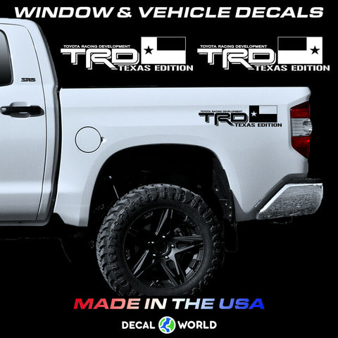 Toyota Tundra/Tacoma TRD Texas Edition Off Road Bed Side