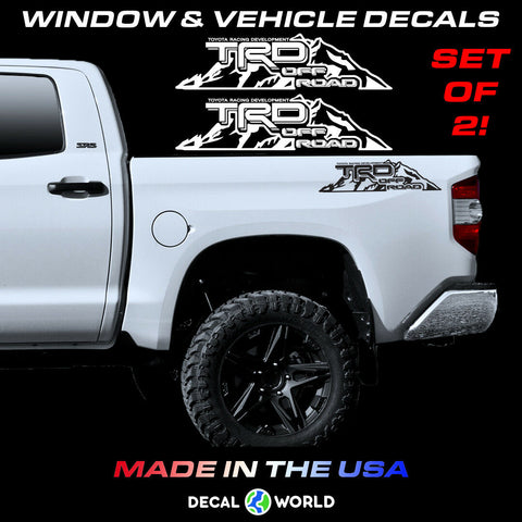 Toyota Tundra/Tacoma TRD Mountain Edition Off Road Bed Side