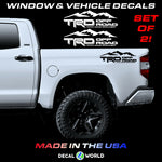 Toyota Tundra/Tacoma TRD 4x4 Mountain Edition Off Road Bed Side