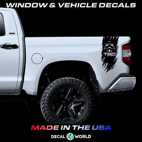 Toyota Tundra Tacoma Weathered Bedside - Storm Trooper TRD Edition