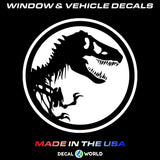 "Jeep Hood Decal - 20"" Jurassic Park Jeep Hood Sticker Wrangler Rubicon CJ"