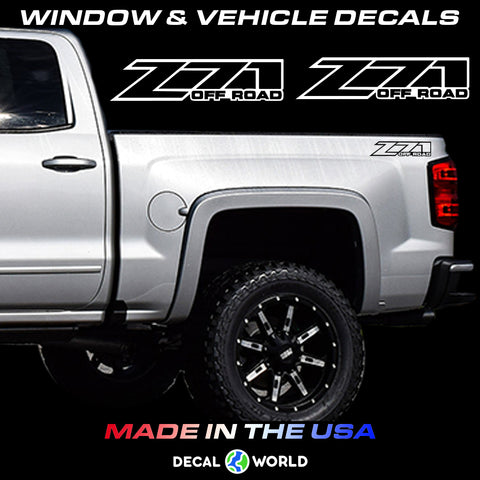 Chevy Z71 Off Road Truck Bed Side