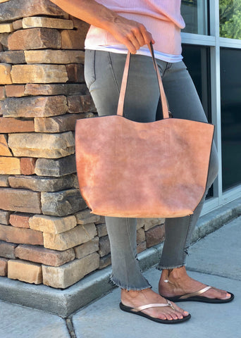 pink beige handbag for women tote bag