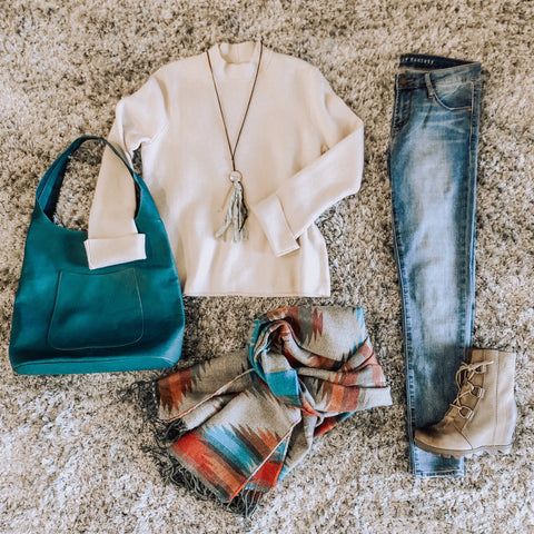 Fall Fashion Outfits, Sweaters, Boots, and Blanket Scarves